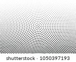 abstract halftone wave dotted... | Shutterstock .eps vector #1050397193
