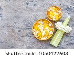 thai style scented water... | Shutterstock . vector #1050422603