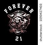 tiger grunge aesthetic t shirt...   Shutterstock .eps vector #1050427403
