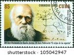 cuba   circa 2009  a stamp...   Shutterstock . vector #105042947
