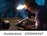 mechanic engineer turner miller ... | Shutterstock . vector #1050446567