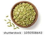 dried herb  fennel seeds in the ... | Shutterstock . vector #1050508643