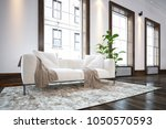 large spacious luxury... | Shutterstock . vector #1050570593