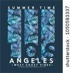 summer concept tee print design ... | Shutterstock .eps vector #1050583337