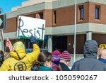 manchester  nh usa   march 19 ... | Shutterstock . vector #1050590267