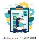 vector illustration design... | Shutterstock .eps vector #1050619313