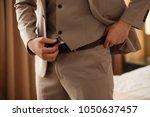 businessman preparing to work ...   Shutterstock . vector #1050637457