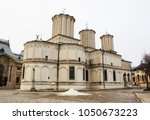 romanian patriarchal cathedral  | Shutterstock . vector #1050673223