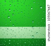 green abstract background with... | Shutterstock .eps vector #105067667