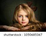 close up portrait of a... | Shutterstock . vector #1050685367