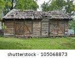 Country Old Big Wooden Shed....