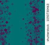 rhombus green minimal geometric ... | Shutterstock .eps vector #1050730463