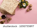 creative image of passover... | Shutterstock . vector #1050755897