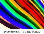 flexible lighting lamps. lamps... | Shutterstock . vector #1050760037