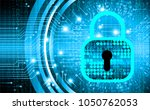 safety concept  closed padlock...   Shutterstock .eps vector #1050762053