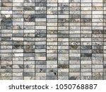 stone brick wall textured...   Shutterstock . vector #1050768887