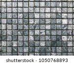 stone brick wall textured...   Shutterstock . vector #1050768893