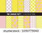 Pink Lemonade Vector Patterns....
