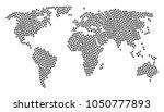 continental map pattern... | Shutterstock . vector #1050777893