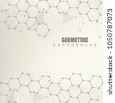 modern futuristic background of ...   Shutterstock .eps vector #1050787073
