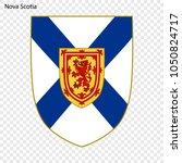 emblem of nova scotia  province ... | Shutterstock .eps vector #1050824717