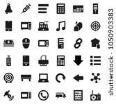 flat vector icon set  ... | Shutterstock .eps vector #1050903383