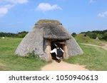 pit dwelling house in aomori ... | Shutterstock . vector #1050940613