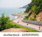 wide angle view of a scenic... | Shutterstock . vector #1050959093