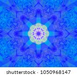 abstract background blue... | Shutterstock . vector #1050968147