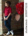 children fashion clothes | Shutterstock . vector #1050973133