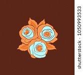 vector seamless pattern.... | Shutterstock .eps vector #1050993533