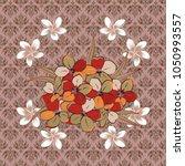 retro textile design collection.... | Shutterstock .eps vector #1050993557