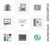 modern flat icons set of design ...