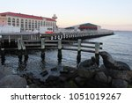 beautiful evening at the...   Shutterstock . vector #1051019267