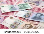 Background Of Chinese Currency.