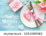 happy mother's day greeting.... | Shutterstock . vector #1051089083