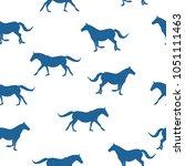 seamless wild animals pattern...
