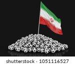 3d illustration. soccer...   Shutterstock . vector #1051116527