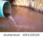 Small photo of Sewer with water flowing all the time
