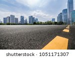 panoramic skyline and buildings ... | Shutterstock . vector #1051171307