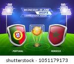 soccer championship league ...   Shutterstock .eps vector #1051179173
