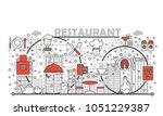 restaurant concept vector...