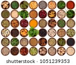 selection of cooking... | Shutterstock . vector #1051239353