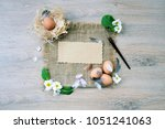 top view background with space...   Shutterstock . vector #1051241063