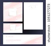 identity style. design...   Shutterstock .eps vector #1051277273