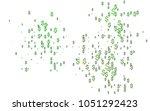 Dark Green Vector Background...