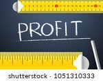 Small photo of Measuring business profit management. Various way of measuring the accountability of company profit based on different accounting standard and practice