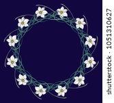 spring flowers. daffodil... | Shutterstock .eps vector #1051310627