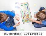 vilnius  lithuania   23 april... | Shutterstock . vector #1051345673