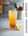 arnold palmer cocktail with...   Shutterstock . vector #1051382933